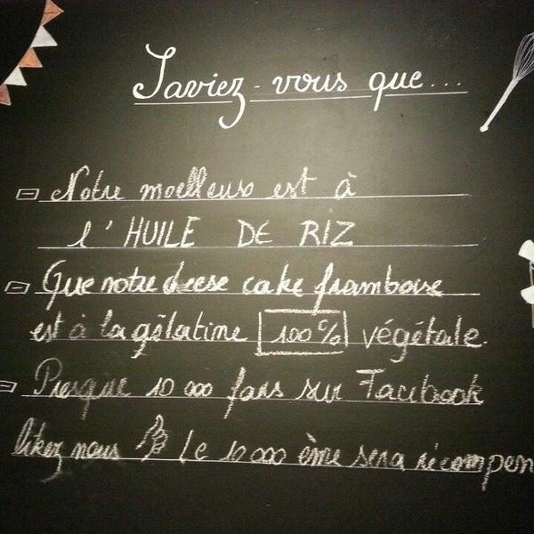 Photo prise au Les Tartes de Françoise par Bianca B. le2/10/2014