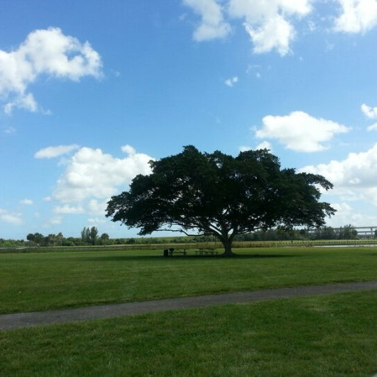 Photo taken at Markham Park by Ryann J. on 10/15/2012