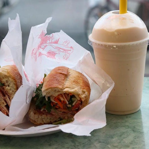 We're partial to both the classic pork-and-pâté combo and the meatball option—and at just $5, you'll have plenty left over for an avocado shake.