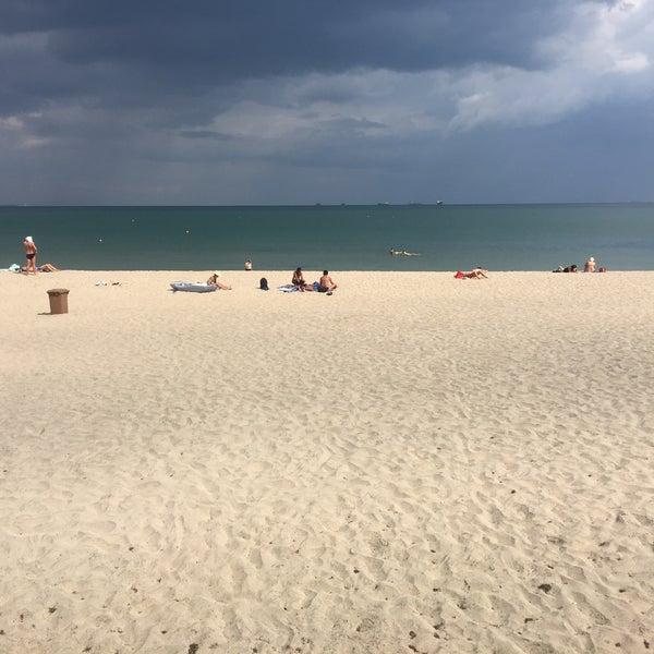 Foto scattata a Централен Плаж Бургас (Burgas Central Beach) da SuperTed il 9/6/2018