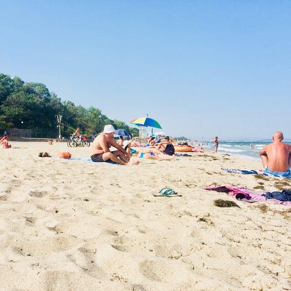 Foto scattata a Централен Плаж Бургас (Burgas Central Beach) da SuperTed il 9/2/2018
