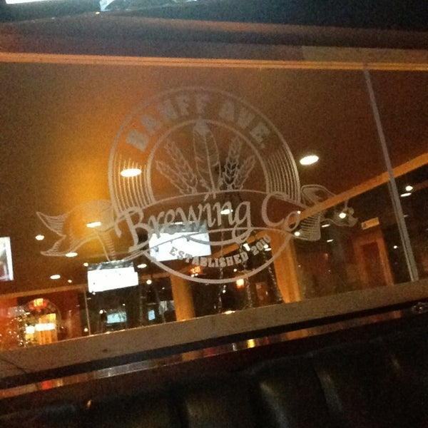 Photo taken at Banff Avenue Brewing Co. by Meanne M. on 1/21/2013