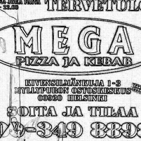 Foto diambil di Mega Pizza & Kebab oleh Herkko V. pada 8/18/2013