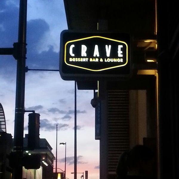 Photo taken at Crave Dessert Bar & Lounge by Pat B. on 5/25/2013