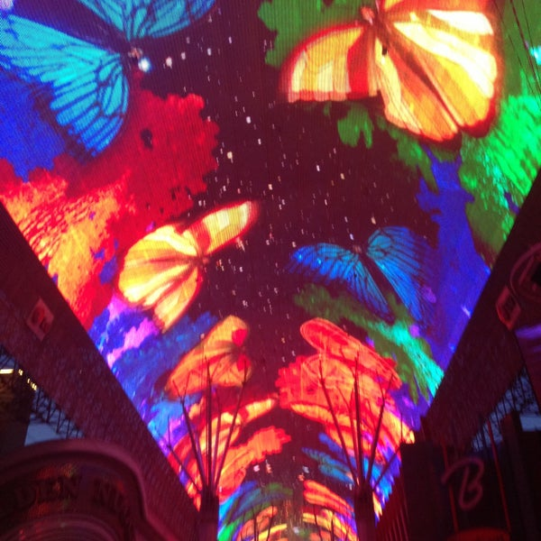 Photo taken at Fremont Street Experience by Amber T. on 5/13/2013