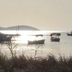 Photo taken at şirinkent batık gemi by Erman Ö. on 7/10/2014