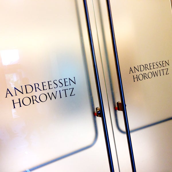 Photo taken at Andreessen Horowitz by Robin W. on 9/24/2015