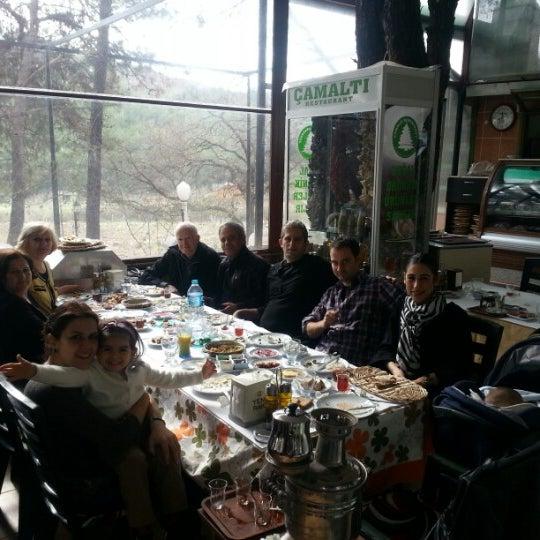 1/20/2013 tarihinde Tolga T.ziyaretçi tarafından Çamaltı Restaurant'de çekilen fotoğraf
