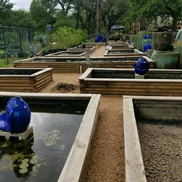 Photo Taken At Hill Country Water Gardens By Steve D. On 4/9/