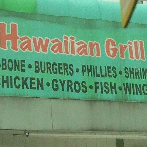 Hawaiian grill 1720 n kingshighway blvd for Fish bone grill dallas
