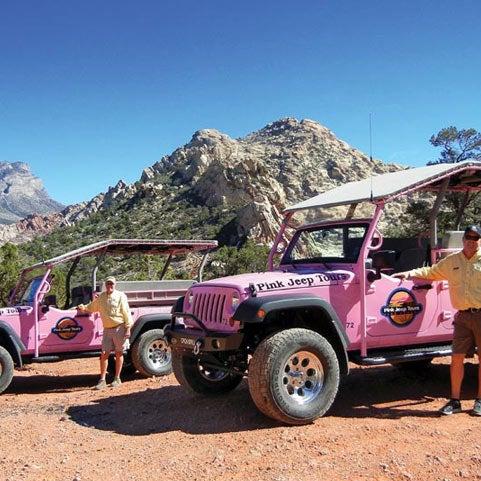 Photo Taken At Pink Jeep Tours   Las Vegas By Marketing D. On 6/