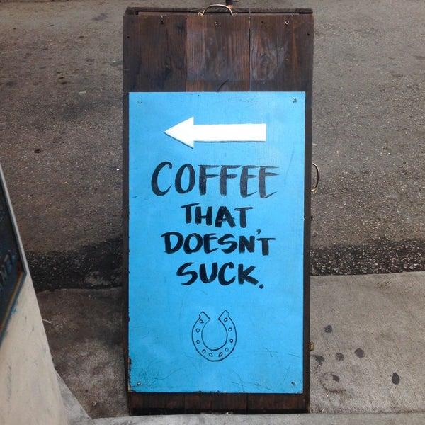 Photo taken at Iron Horse Coffee Bar by Jennifer M. on 9/22/2015
