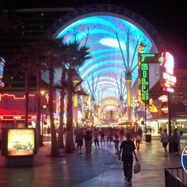 Photo taken at Downtown Las Vegas by Deniz D. on 3/12/2017