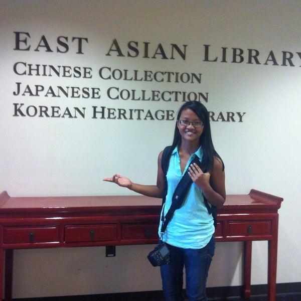 Photo taken at Doheny Memorial Library (DML) by Melanie V. on 9/23/2014