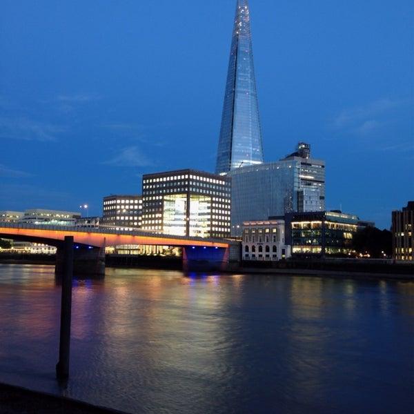 Photo taken at London Bridge by Alan B. on 7/24/2013