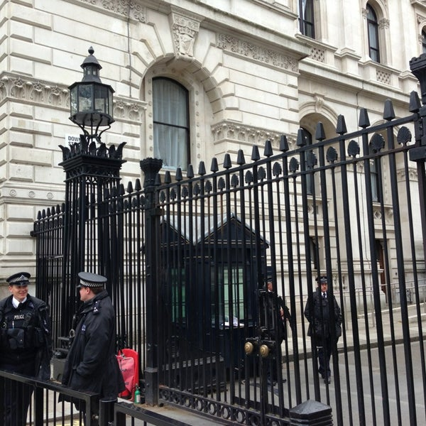 Photo taken at 10 Downing Street by GK on 5/17/2013