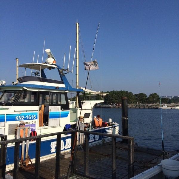 7/26/2014にブライアン 静.が金沢八景 忠彦丸 釣船・釣宿で撮った写真