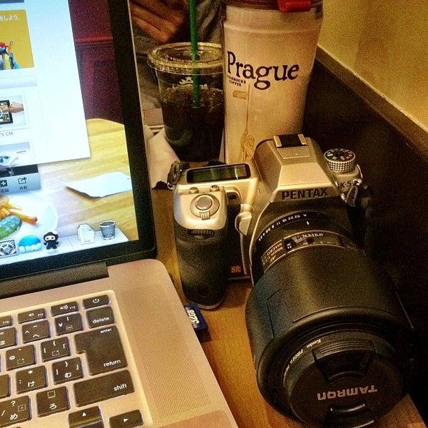 Photo taken at Starbucks by taq_n on 3/21/2013