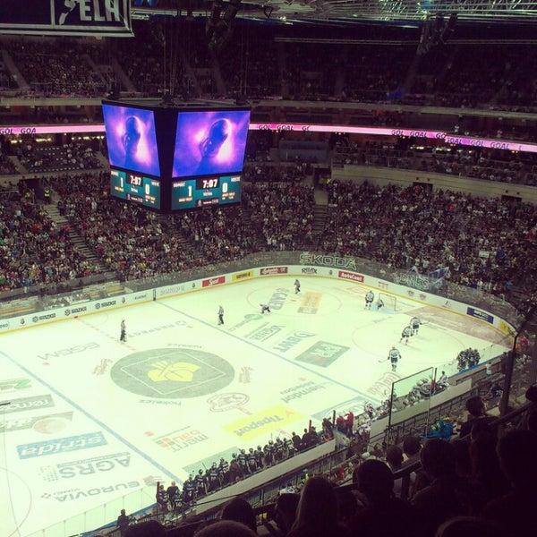 Photo taken at O2 arena by Radek C. on 9/26/2012