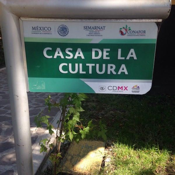 Photo taken at Parque Ecologico Huayamilpas by Silvia C. on 11/30/2016