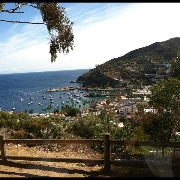 Photo taken at Santa Catalina Island by Ben S. on 10/23/2012