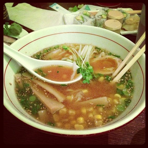 Photo taken at Noodle Cafe Zen by Sarah F. on 12/2/2012
