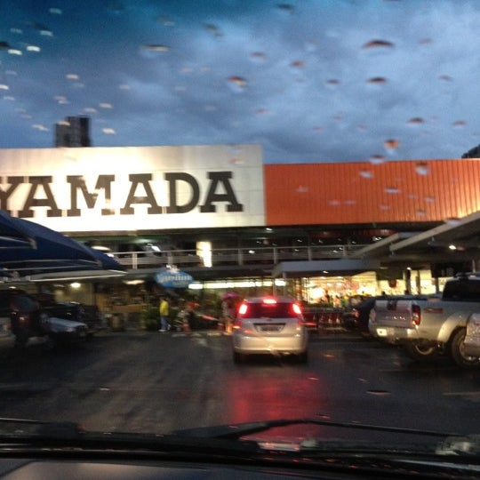 Photo taken at Yamada Plaza by Felipe L. on 2/27/2012