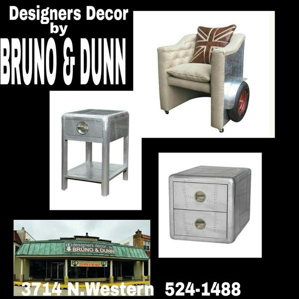 Designers decor by bruno dunn furniture llc furniture home store in oklahoma city Home design furniture llc