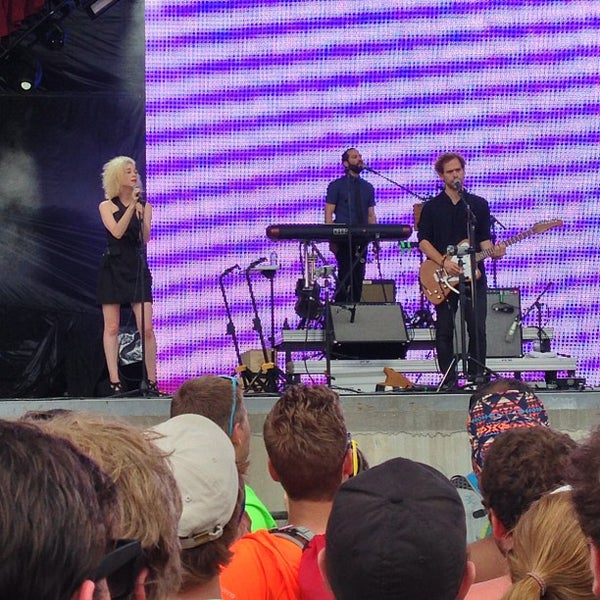 Photo taken at What Stage at Bonnaroo Music & Arts Festival by Adam N. on 6/17/2013