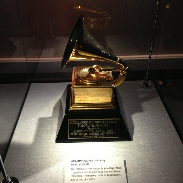 Photo taken at The GRAMMY Museum by Nina L. on 3/25/2013