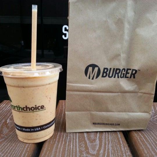 Photo taken at M Burger by Matthew M. on 11/18/2012