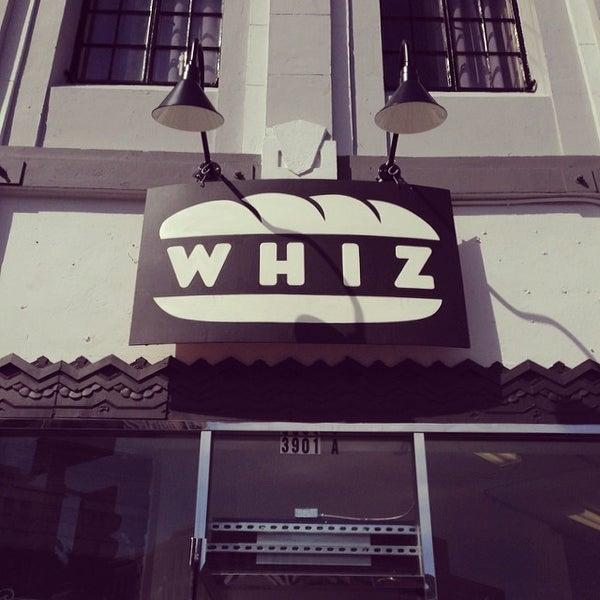 Photo taken at Whiz by Ellen H. on 2/27/2014