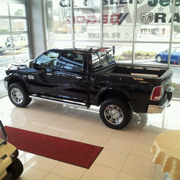 Photo Taken At Hall Chrysler Dodge Jeep RAM Virginia Beach By Cale C. On 2