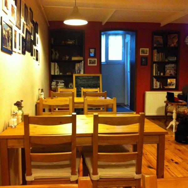 3/16/2013 tarihinde tolga s.ziyaretçi tarafından Semolina Kafe & Restoran'de çekilen fotoğraf