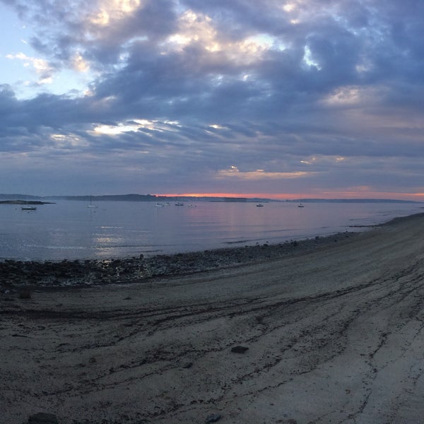Photo taken at East End Beach by Chelsea P. on 10/19/2016