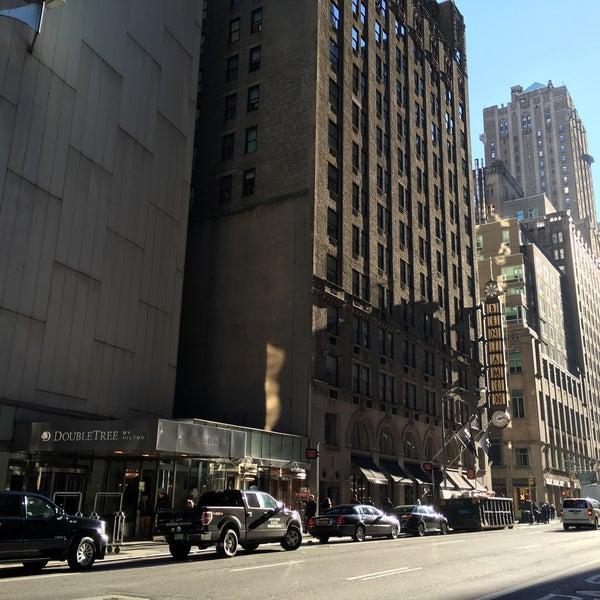 Photo taken at DoubleTree by Hilton Hotel Metropolitan - New York City by Miff on 1/11/2016