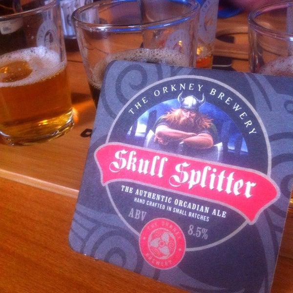 Photo taken at The Orkney Brewery by Håkon V. on 5/21/2014