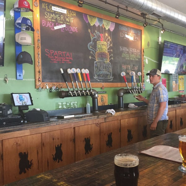 Photo taken at Joyride Brewing Company by Derek L. on 7/9/2017