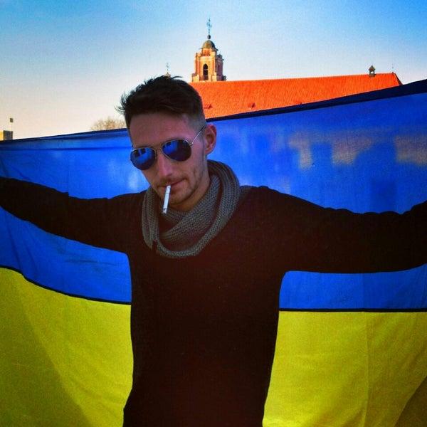 Photo taken at Comfort Hotel Vilnius by Анатолий К. on 4/2/2014