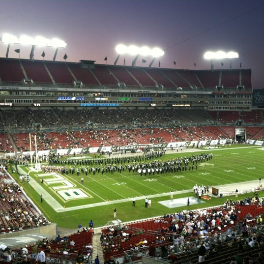 Photo taken at Raymond James Stadium by Geoffrey F. on 11/3/2012