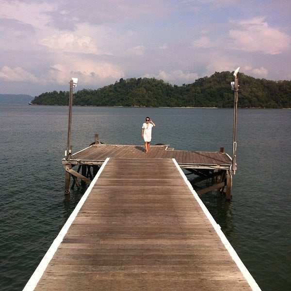 Photo taken at Gayana Eco Resort by Grace C. on 10/28/2013