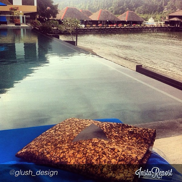 Photo taken at Gayana Eco Resort by Grace C. on 10/30/2013
