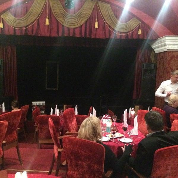 Снимок сделан в Театр-кабаре на Коломенской/ The Private Theatre and Cabaret пользователем Поля П. 11/6/2016