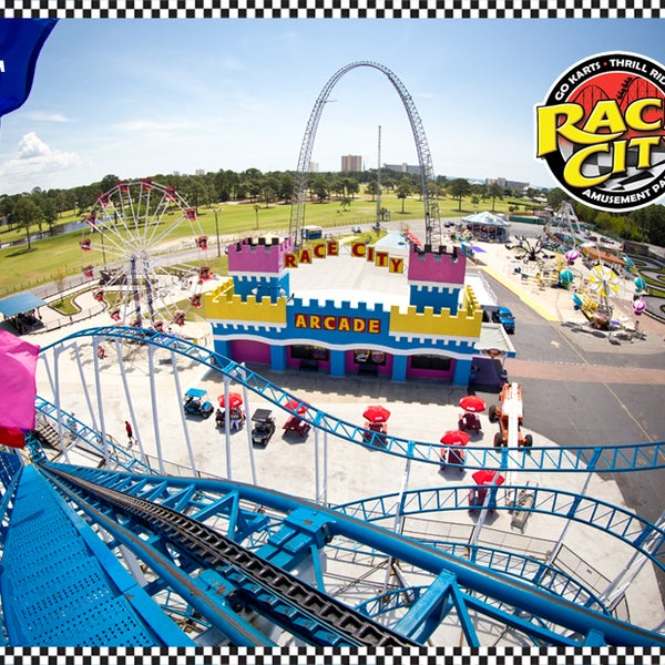 Race City Arcade Panama City Beach