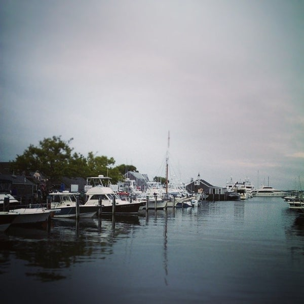 Photo taken at Nantucket Boat Basin by Dave W. on 8/3/2014