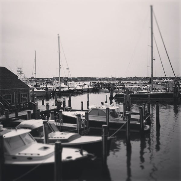 Photo taken at Nantucket Boat Basin by Dave W. on 8/1/2014