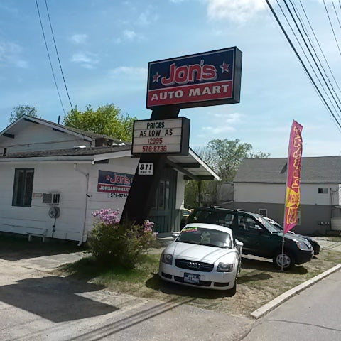 Jon 39 s auto mart downtown lewiston lewiston me for General motors dealers near me