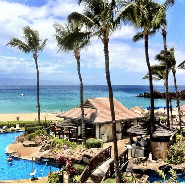 Photo taken at Sheraton Maui Resort & Spa by Brent B. on 4/29/2012