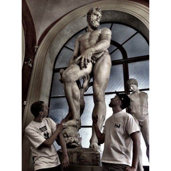 Photo taken at Accademia delle Belle Arti by Laurent F. on 9/10/2013