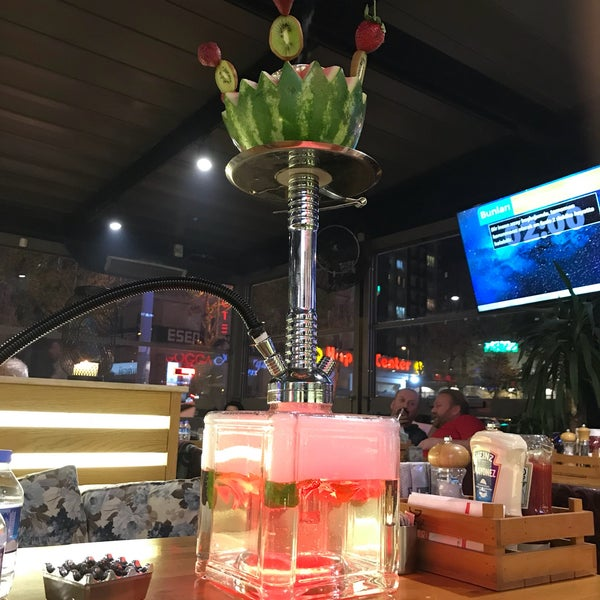 4/21/2018 tarihinde Yunus E.ziyaretçi tarafından Gogga Cafe-Restaurant'de çekilen fotoğraf